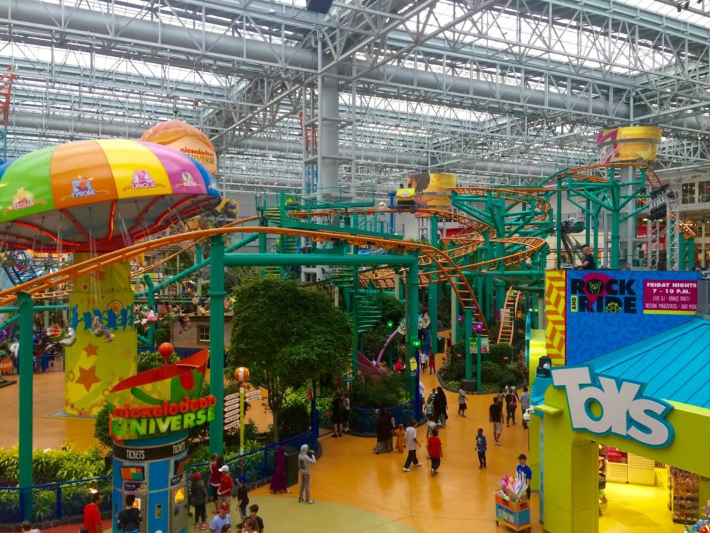 Scoprire il Mall of America: The Nickelodeon Universe