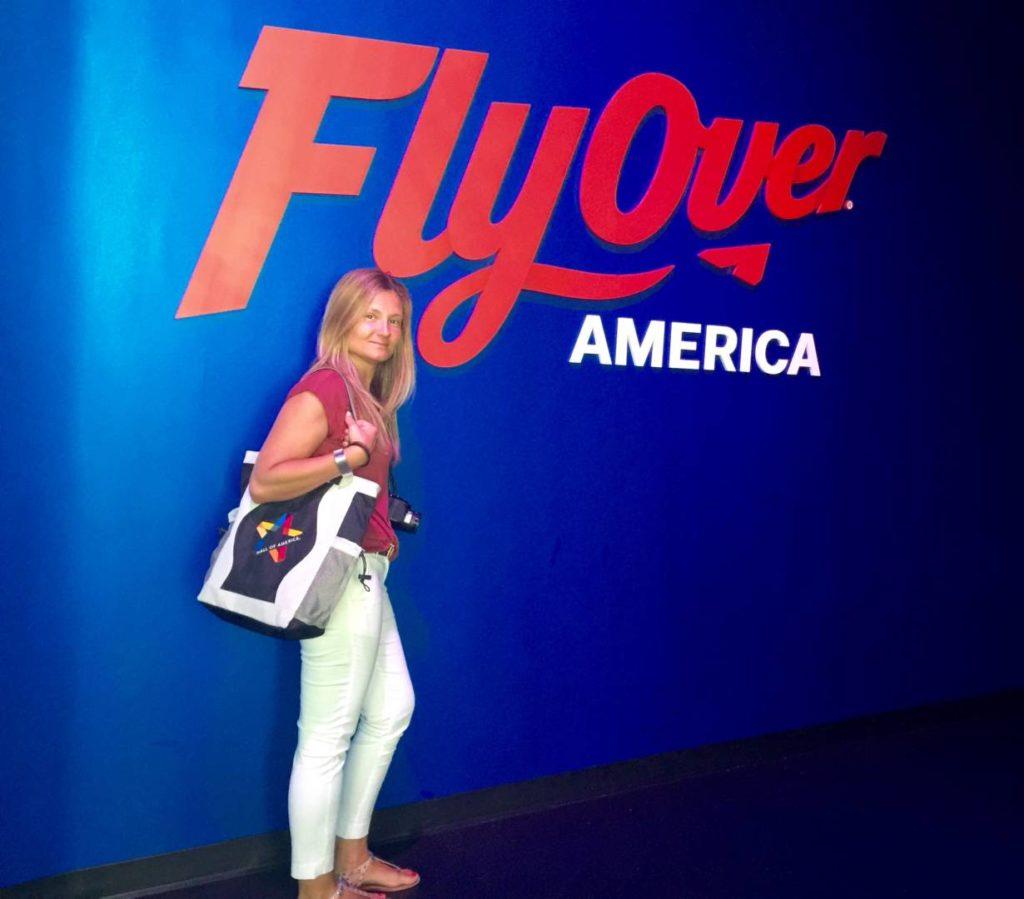 FlyOver America, l'ingresso
