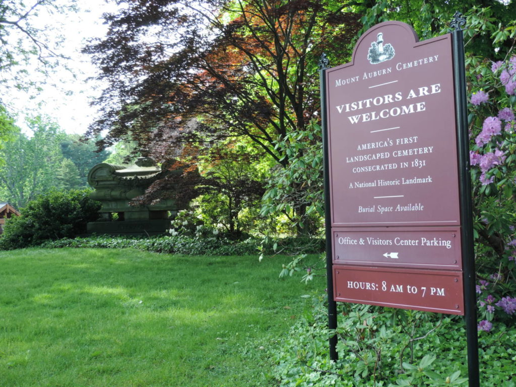 Unusual Boston: welcome to Mount Auburn Cemetery