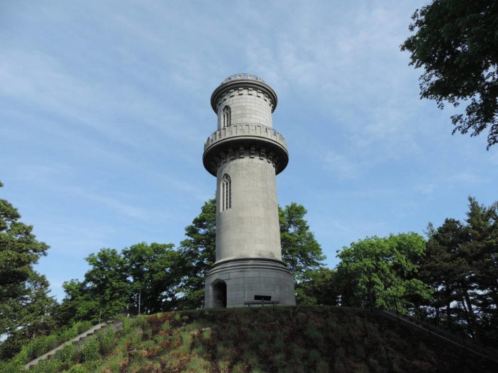 Washington Tower. Mount Auburn Cemetery