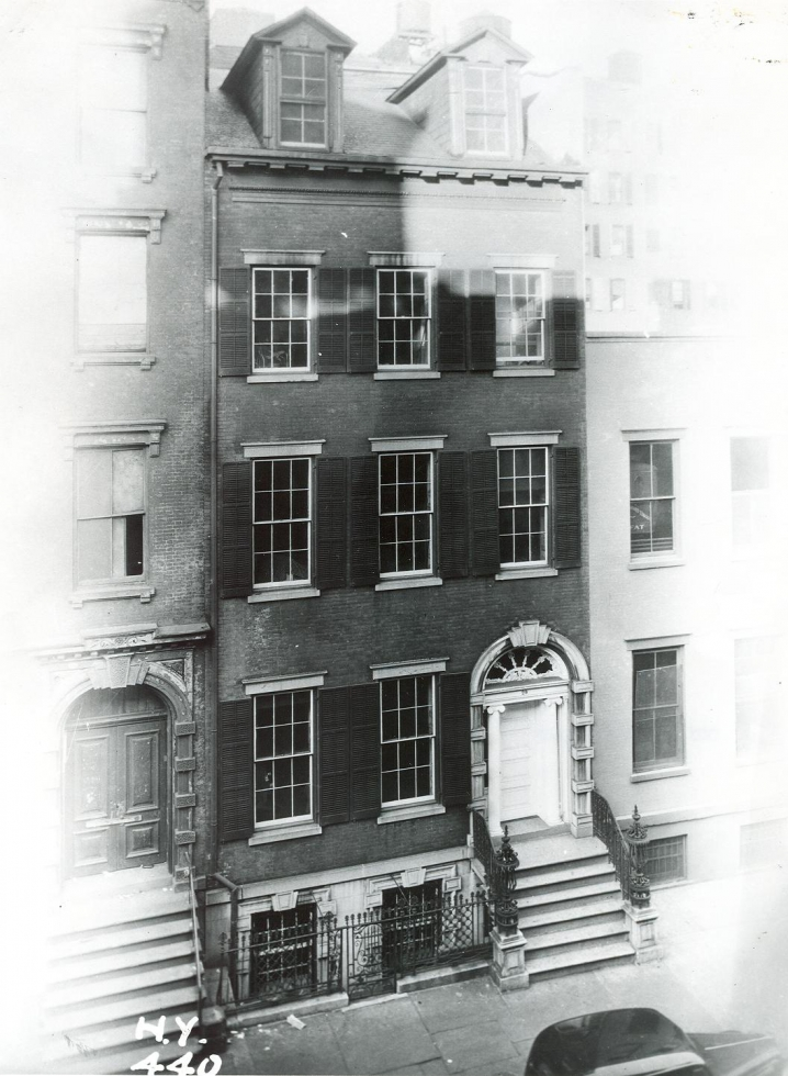 Secret New York: the Merchant's House in 1936
