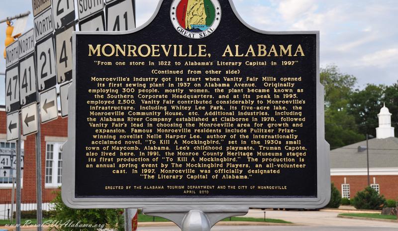 Viaggio negli Stati Uniti, Monroeville, Alabama