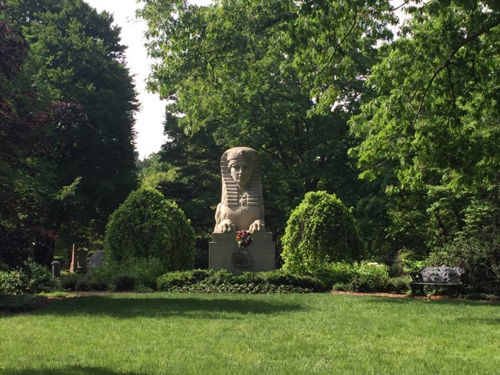 Mount Auburn Cemetery, the Sphinx