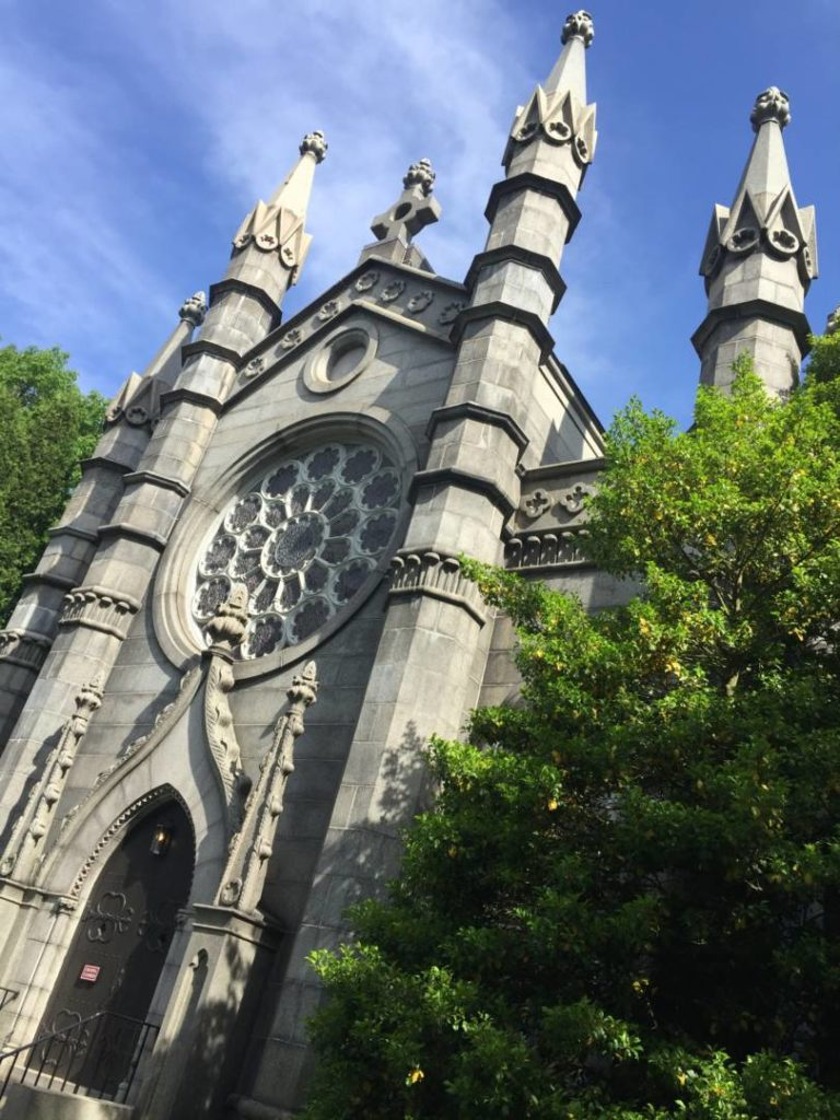 Mount Auburn Cemetery, the Old Chapel