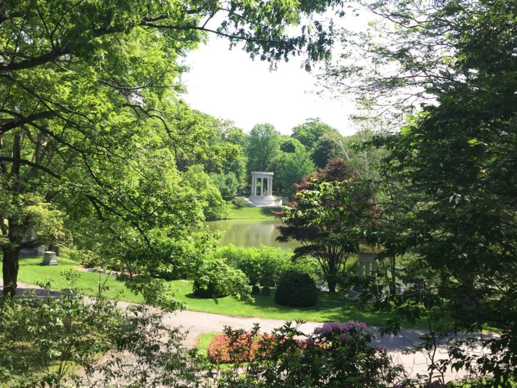 Mount Auburn Cemetery, views