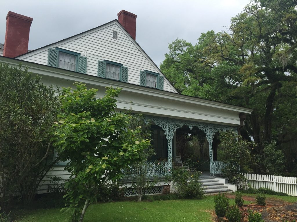 Myrtles Plantation, the secondary porch