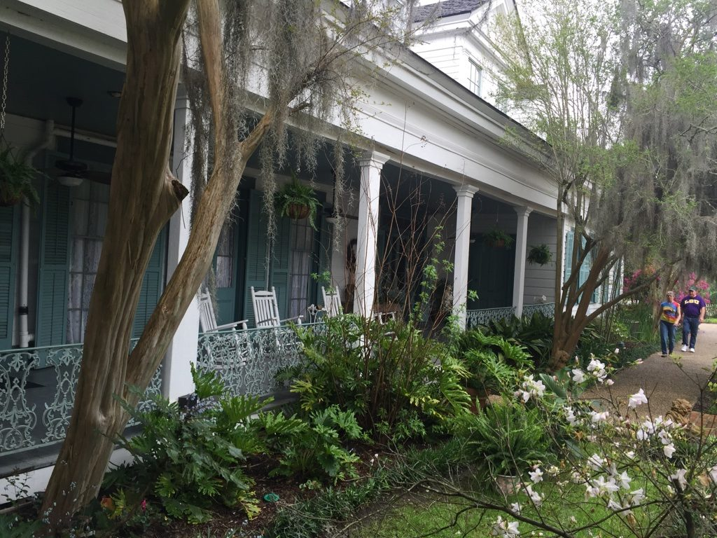 What to see in Louisiana: Myrtles Plantation, views