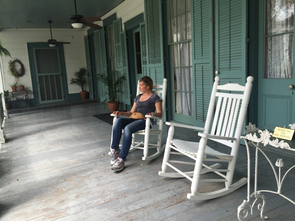 Myrtles Plantation, the porch