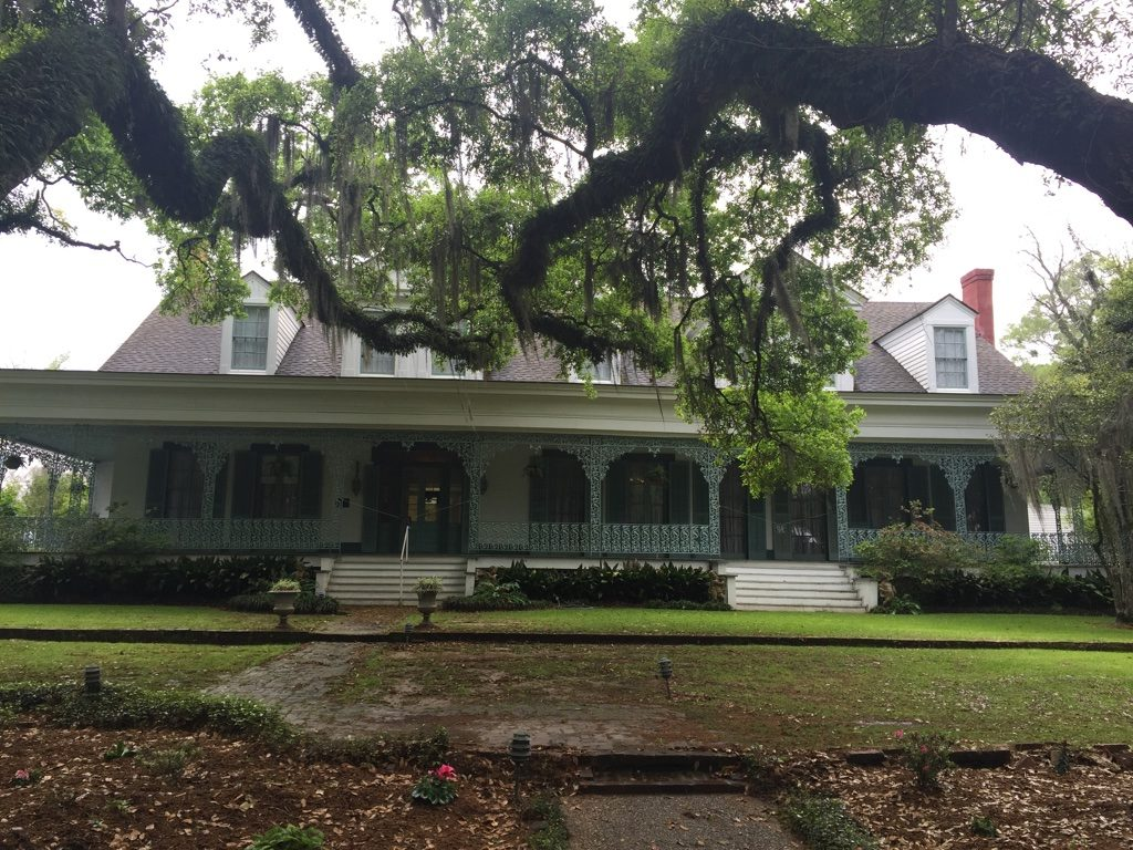 What to see in Louisiana: Myrtles Plantation seen from the park