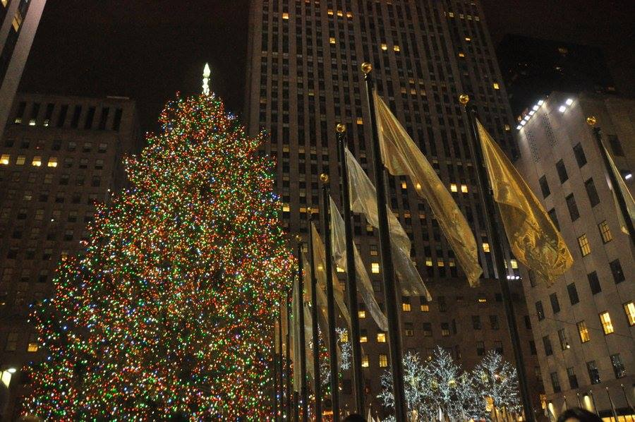 Natale a New York: l'albero del Rockefeller Center
