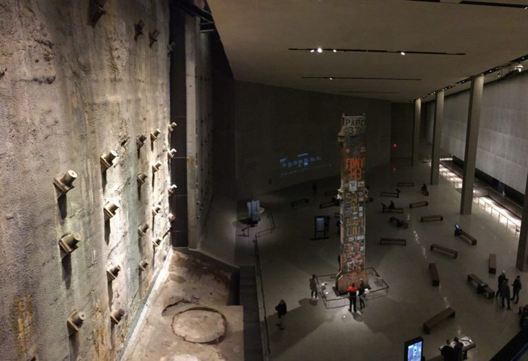National September 11 Memorial Museum, Foundation Hall