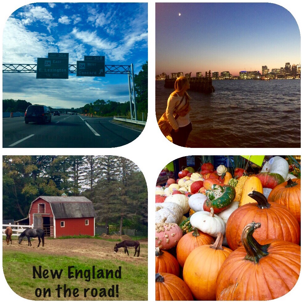 New England on the road, feelings, colors, savors