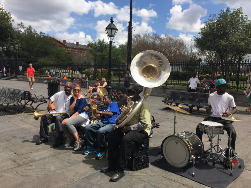 "New Orleans, la ""mia"" Jazz band"