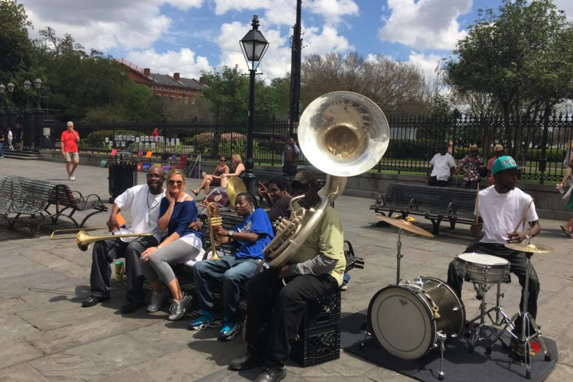 "New Orleans, la ""mia"" Jazz band"