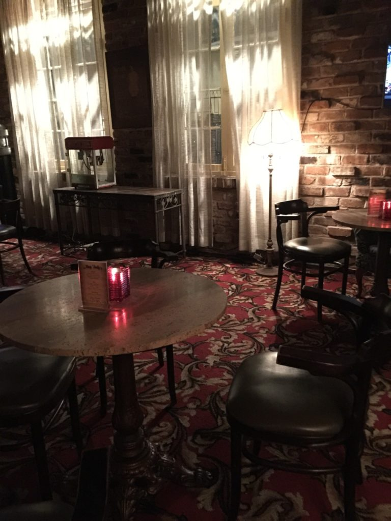 May Baily's Place, inside the bar