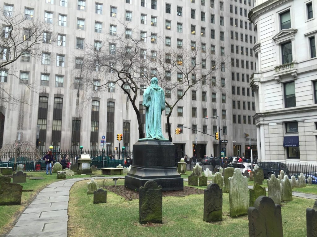 Unusual New York: Trinity Church, the ancient cemetery