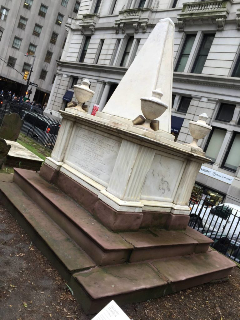 Unusual New York: Trinity Church, Alexander Hamilton's grave