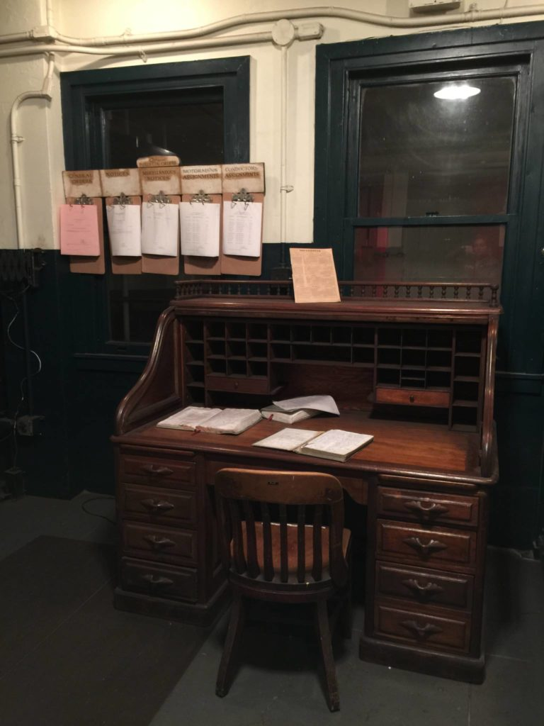 Ny Transit Museum, the stationmaster's old control office
