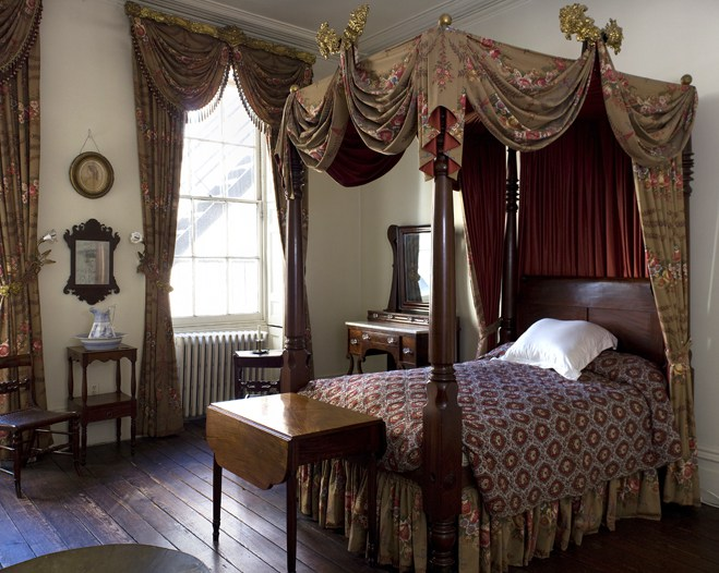Secret New York: the Merchant's House, Gertrude's bedroom