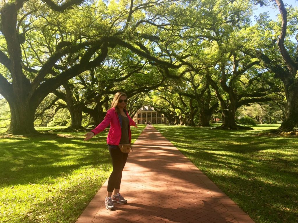 Ritorno ad Oak Alley Plantation