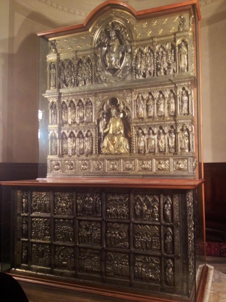 L'Altare Argenteo di San Giacomo, nel Duomo di San Zeno