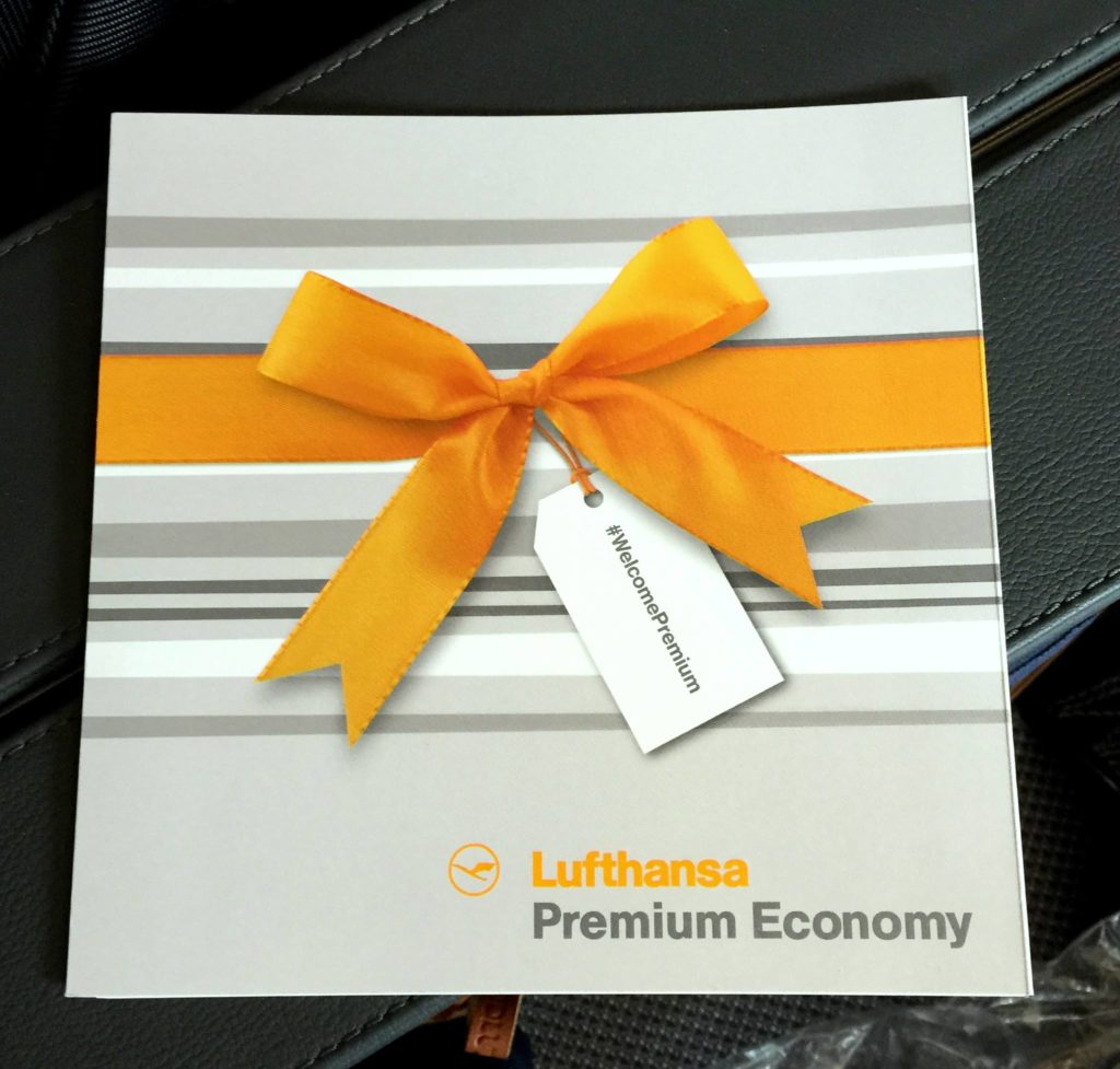 Benvenuti in Premium Economy