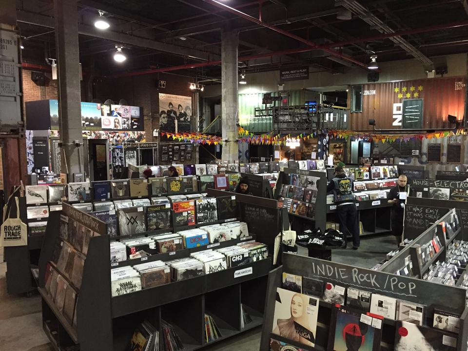 What to see in New York: Rough Trade, Williamsburg