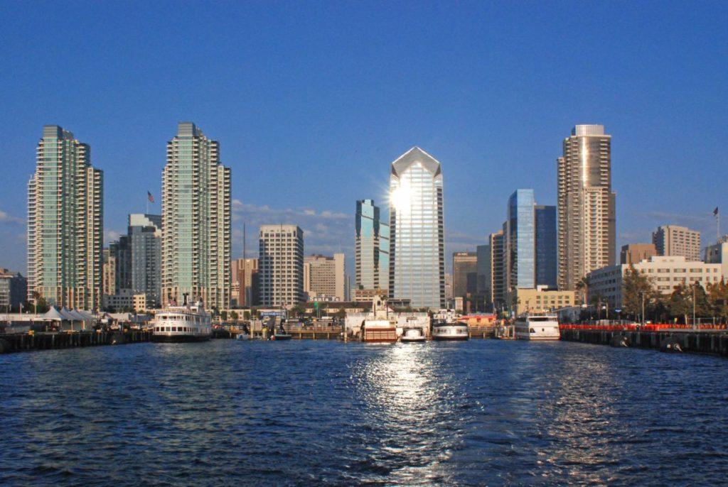 Viaggio in California: San Diego vista dalla sua baia