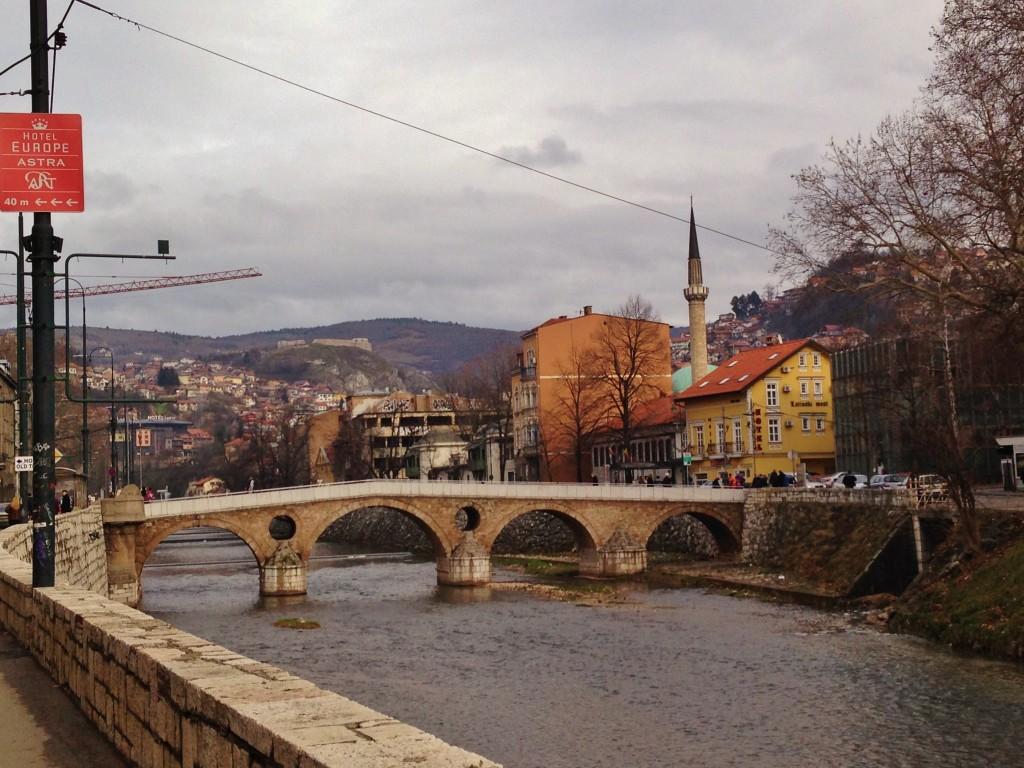 Sarajevo, il Ponte Latino