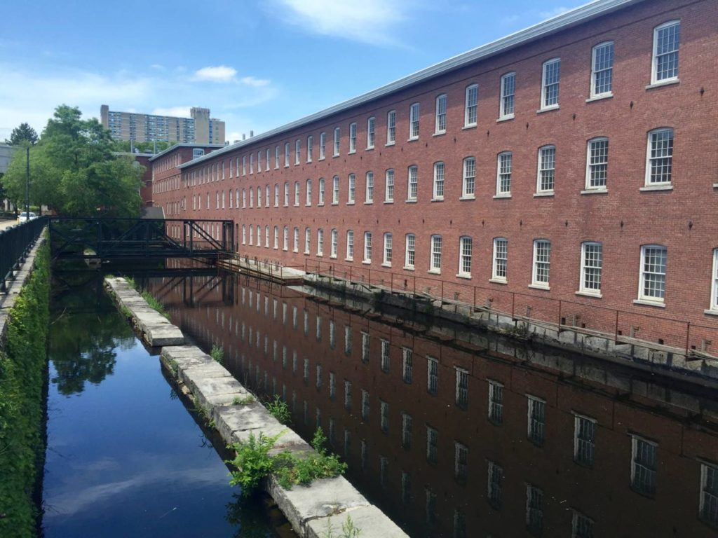 Discover Lowell, ancient textile factories and channels