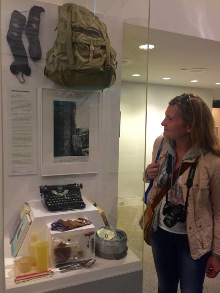 Patrick Mogan Cultural Center, Kerouac's relics