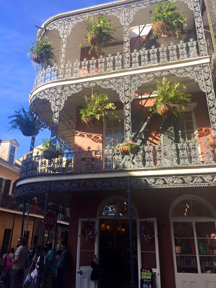 Discover New Orleans: the wrought-iron balconies of the French Quarter