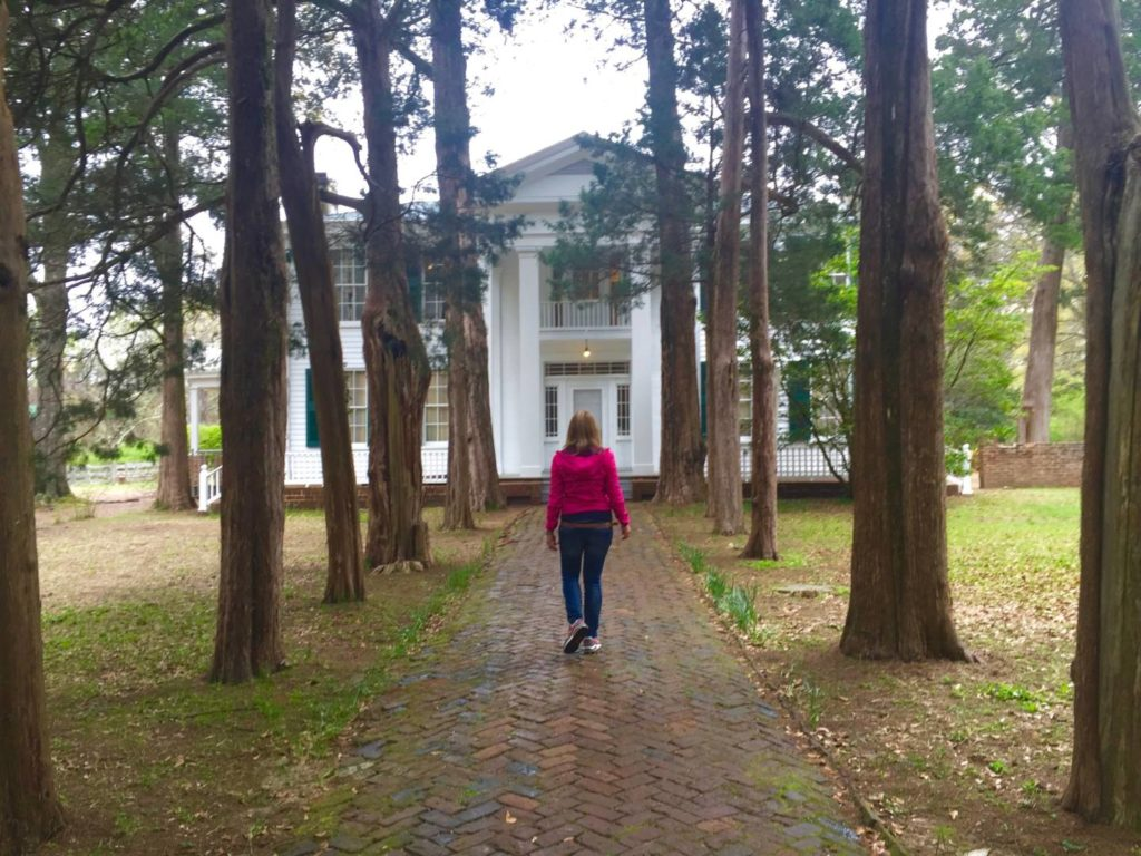 Discovering Oxford: Rowan Oak, the outside