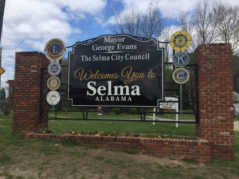 Civil Rights Trail, Selma, Alabama