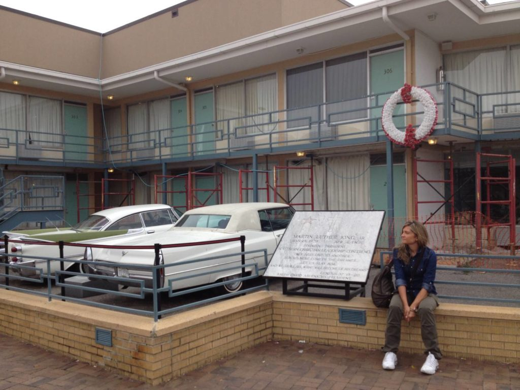 Memphis, Tennessee. The Lorraine Motel, il luogo in cui fu assassinato Martin Luther King, oggi sede del National Civil Rights Museum