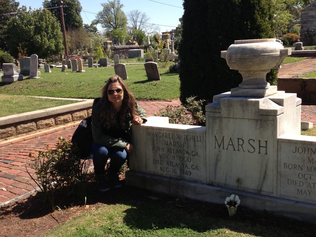 La tomba di Margaret Mitchell