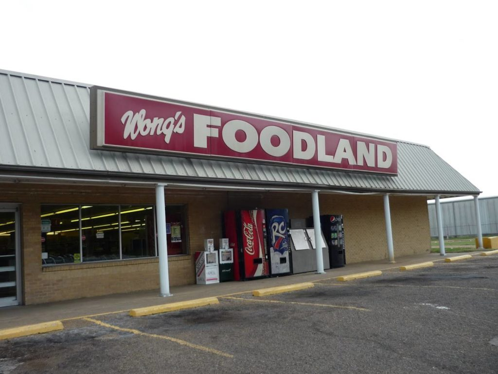 Mississippi on the road: Wong's Foodland