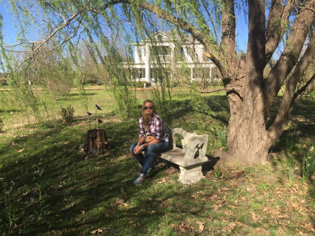 Mississippi on the road: Whittington Farm, the garden in the real life