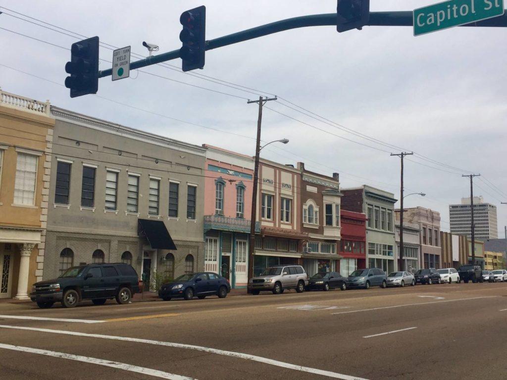 Downtown di Jackson, gli edifici di State Street