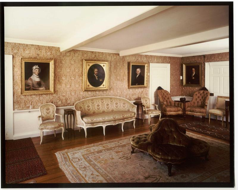 The Old House, the first sitting room of the White House, photo credits nos.gov