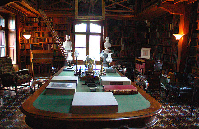 The Stone Library, photo credits nos.gov
