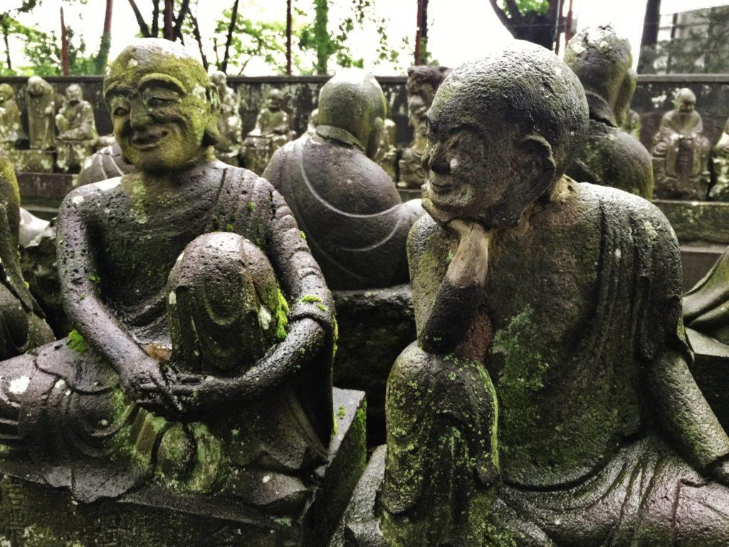 I 500 discepoli di Buddha, particolare
