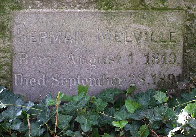 La tomba di Herman Melville