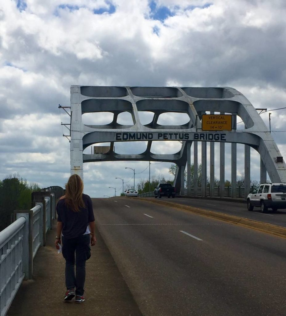 On the road nel Sud USA: Edmund Pettus Bridge, Selma, Alabama