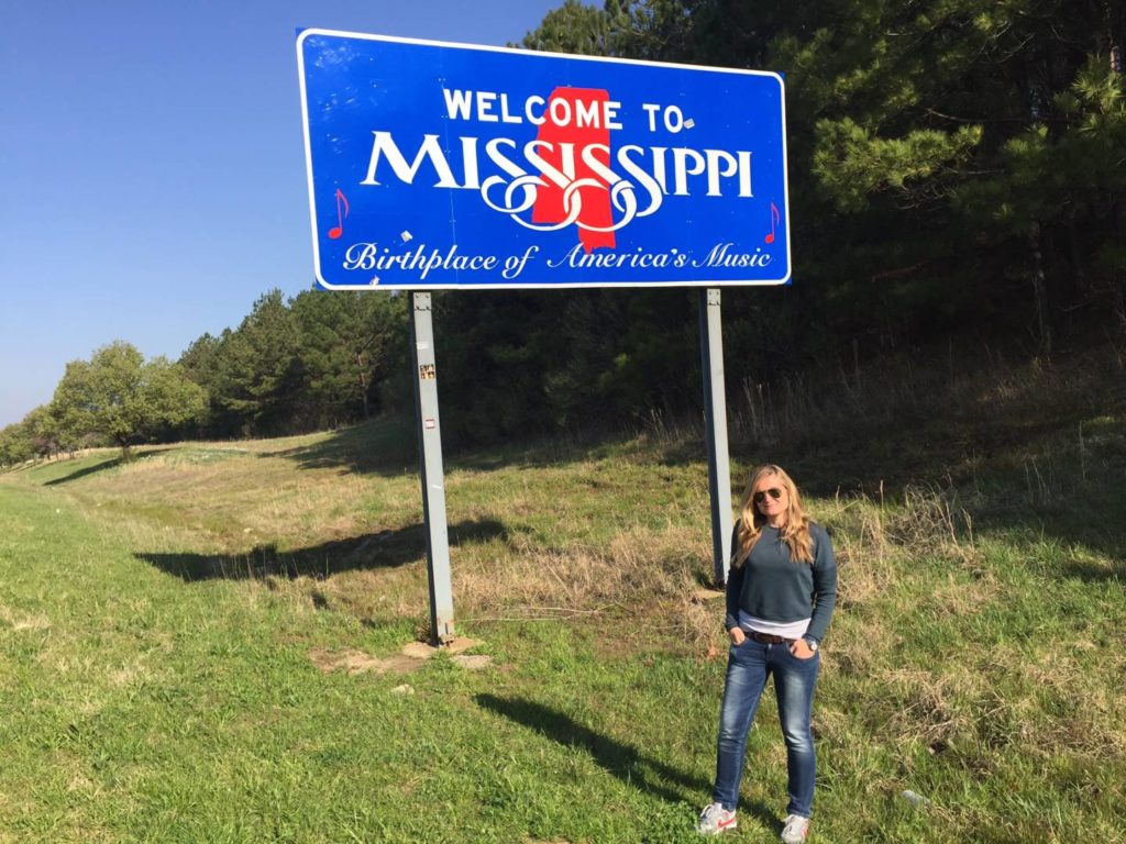 USA on the road: welcome to Mississippi