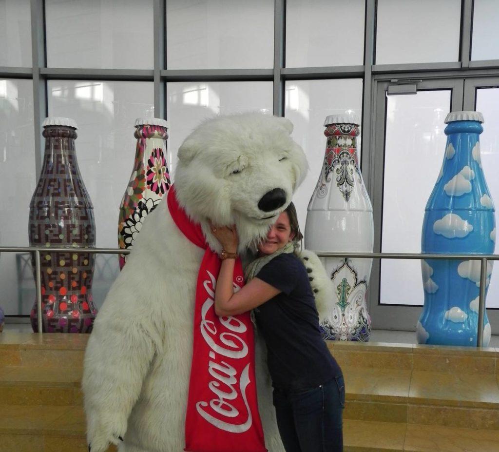 Incontri nel Coca Cola World