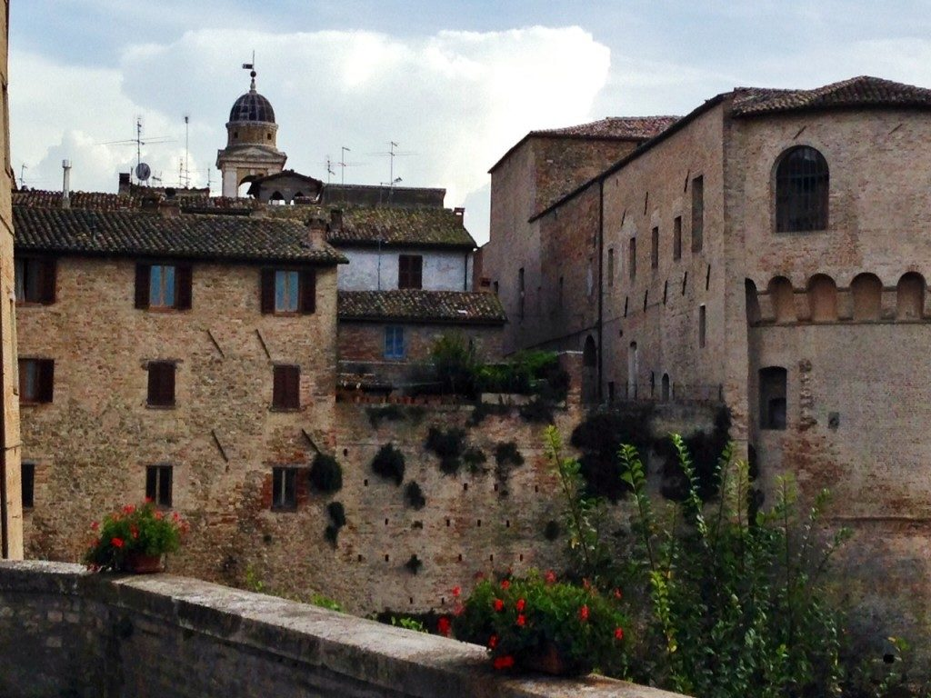 Urbania, scorcio del centro storico