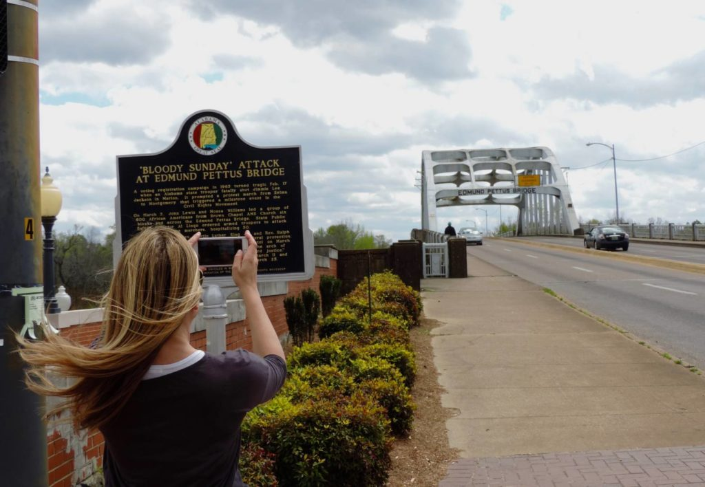 Civil Rights Trail: Edmund Pettus Bridge, Selma