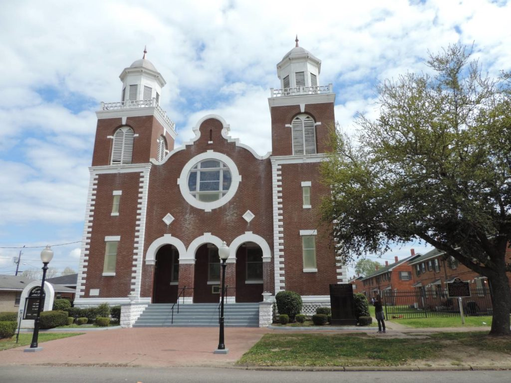 Civil Rights Trail: Brown Chapel Ame Church, Selma
