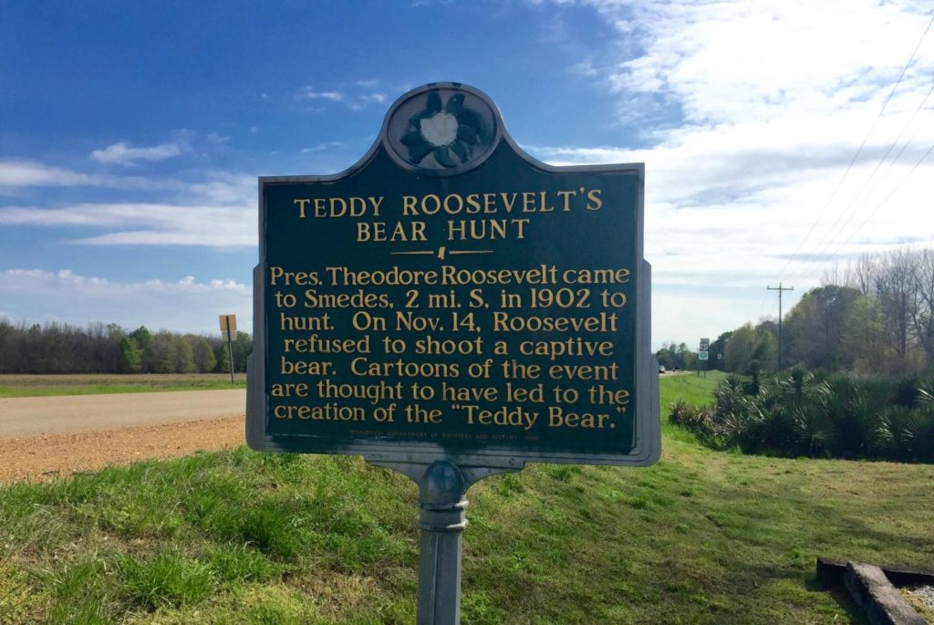 Viaggio in Mississippi: Home of President Teddy Roosevelt's Bear Hunt